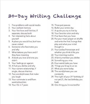 30 Day Writing Challenge, Day 9; My Feelings On Ageism