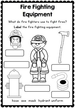 Fire Safety Week Printables