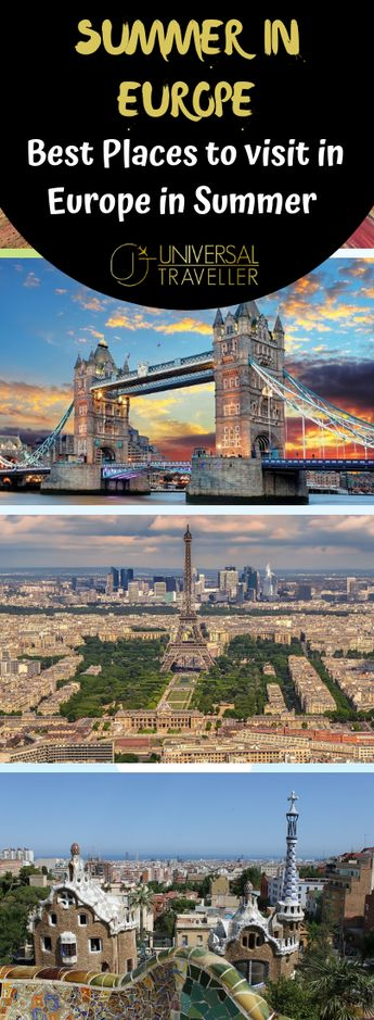 Best cities to visit in Europe - The Must-See European Destinations