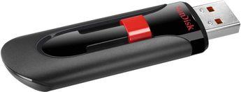 SanDisk - Cruzer Glide 128GB USB 2.0 Flash Drive - Black
