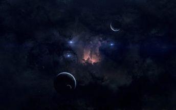 Nebula planetary HD wallpaper