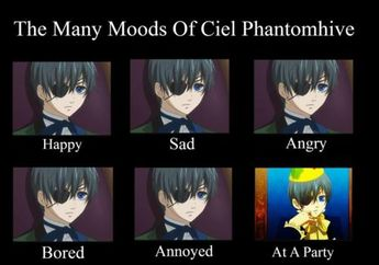 Ciel X Shy Reader Lemon