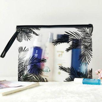 Fashion Women Clear Cosmetic Bags Pvc Toiletry Bags Travel Organizer Necessary Beauty Case Makeup Bag Bath Wash Make Up Box, #Bag #Bags #Bath #beauty #Box #Case #clear #Cosmetic #Fashion #hotmodelcosmetics #makeup #Organizer #pvc #Toiletry #travel #Wash #women