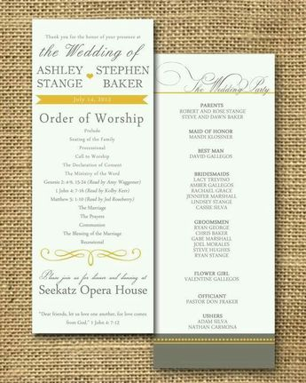 need help with your wedding programs check out our weddin