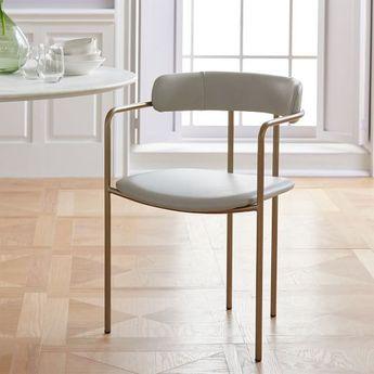 Lenox Velvet Dining Chair