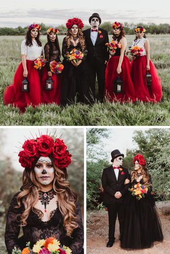 #dayofthedead  #bridechilla #Though #popular #culture  Though popular culture has adopted many of the elements, there are many elements of Dia de los Muertos that could be respectfully incorporated into your wedding if you are interested in celebrating your ancestors.