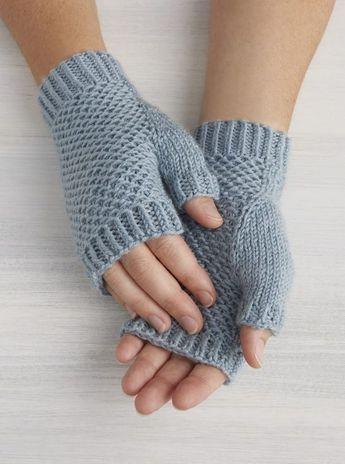 Tutos mitaines au tricot (2