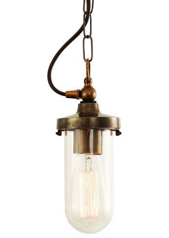 Oregon Well Glass Pendant Light - Mullan Lighting