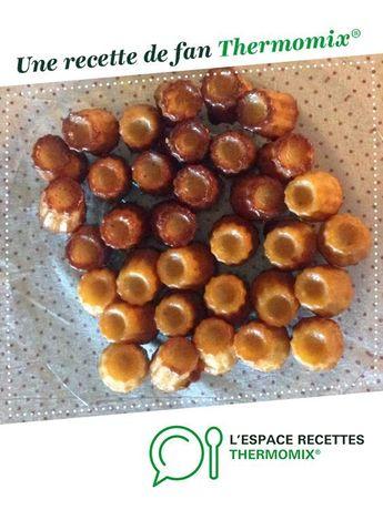 Véritable cannelés Bordelais par lululesud. Une recette de fan à retrouver dans la catégorie Desserts & Confiseries sur www.espace-recettes.fr, de Thermomix<sup>®</sup>.