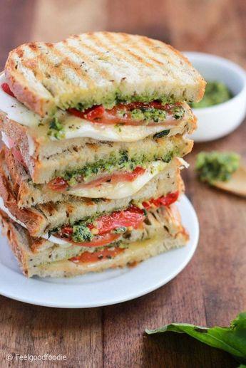 Sandwich à la Mozzarella Grillée  #grillee #mozzarella #sandwich