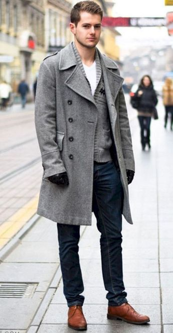 60+ Comfy Winter Fashion Outfits for Men in 2019