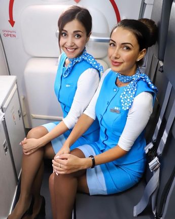 These gutsy cabin crew were not convinced by two men they suspected  of drugs smuggling after they discovered a cocaine stash in the toilet. Confronting the men, the stewardesses won a battle of wills, persistently questioning them until they finally cracked and admitted their guilt. After they had surrendered, the girls bound the men and confined them to the rear of the plane, later handing them over to police in Rio.