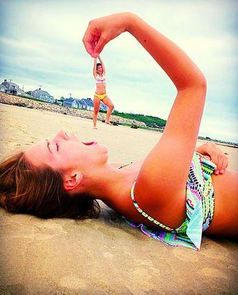 10 photos de famille amusantes à faire à la plage