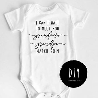 a82b9d780 Pregnancy Reveal to Grandparents Pregnancy Announcement, Grandparents Reveal  Baby Announcement Onesies®, Going to