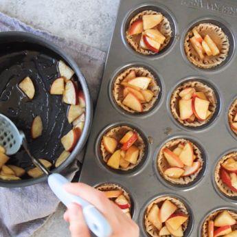 Healthy Apple Pie Minis