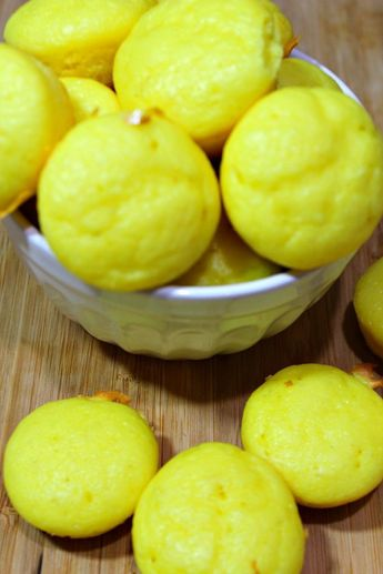 Lemon Weight Watchers Muffins 1 Points Plus Value or 2 Smart Points