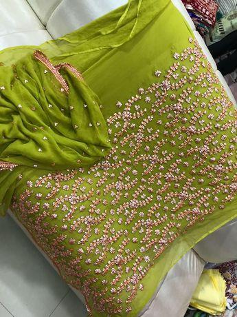 Beautiful romantic combination by Madaan Cloth House Phagwa