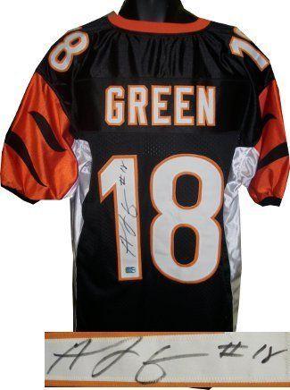 f28ceb73125 AJ Green signed Cincinnati Bengals Black Prostyle Jersey . $261.63. AJ  Green plays wide receiver
