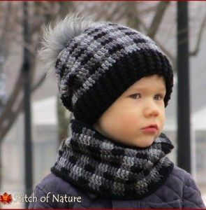 Plaid Crochet Patterns – Create Trendy Plaid - A More Crafty Life