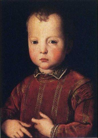 Portrait of Garcia de'Medici #painting #artwork #paintingsforsale #gallery #paintings #oilpainting #arthistory #Royal