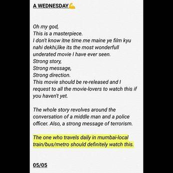 Let us know your opinion about this movie. . . . Do follow us for various movies/series  Let us know your opinion about this movie. . . . Do follow us for various movies/series reviews. . . . #quiteplace #hollywood #zero #tlrreviews #shahrukhkhan #moviereview #review #mumbai #anushkasharma #ranveersingh #salmankhan #ayushmankhurana #happy #sonamkapoor #anilkapoor #rajkumarrao #akshaykumar #kesari #gullyboy #anupamkher #wednesday