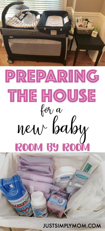 How to Organize Your House Before Bringing Home the New Baby