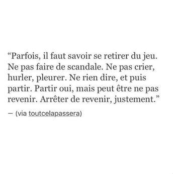 Meilleurs Citations De Jalousie  : C'est ça ne reviens jamais !