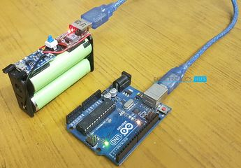 DIY Solar Battery Charger for 18650 for Arduino
