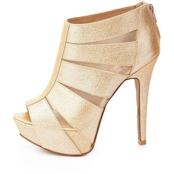 01a6e09f211 List of attractive peep toe booties low heel charlotte russe ideas ...