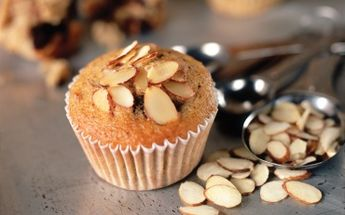 Almond Banana Chocolate Chip Muffins