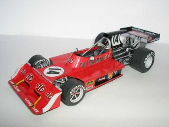 F1 Paper Model - 1973 GP France March 731G Paper Car Free Template Download