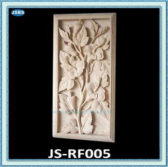 Beautiful Flower Stone Wall Relief Carving $100~$3000