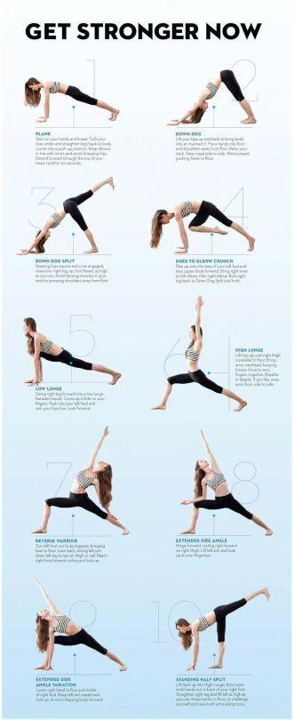 Yoga Helpful Strategies For Basic Yoga Poses #BasicYogaPoses