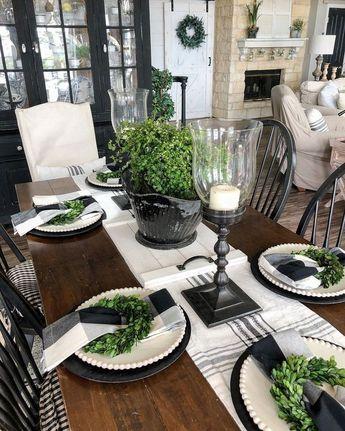 +36 Most Noticeable Farmhouse Dining Room Table Diy Farm House 52