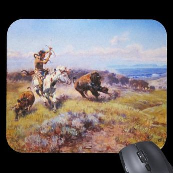 Charles Russell 1 Mousepad | Zazzle.com