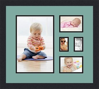 Art to Frames Double-Multimat-48-693/89-FRBW26061 Collage F
