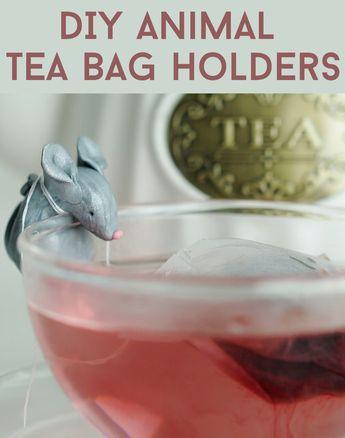 These DIY Tea Bag Holders Are So Damn Cute