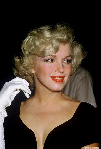 Marilyn Monroe at the 'Some Like It Hot' Wrap Party (1958) ~ Seen for the first time in 60 years.