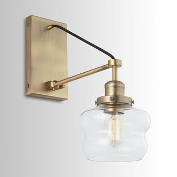 Suspended Shade Sconce