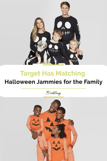 Target Has Matching Halloween Jammies for the Family: Gear up for fall with Target's new Halloween pajamas, which come in matching themes like skeleton, pumpkin, and more.