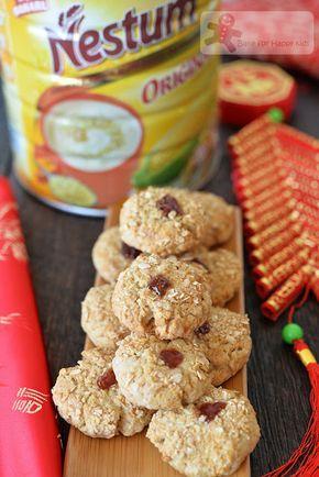 Bake for Happy Kids: Crispy Nestum Cereal Cookies