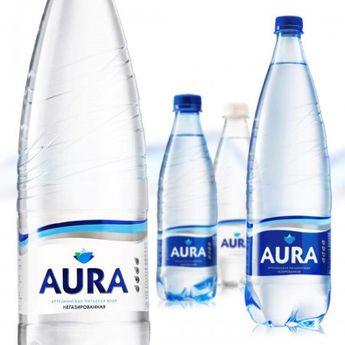 """новый дизайн питьевой воды """"AURA"""""""
