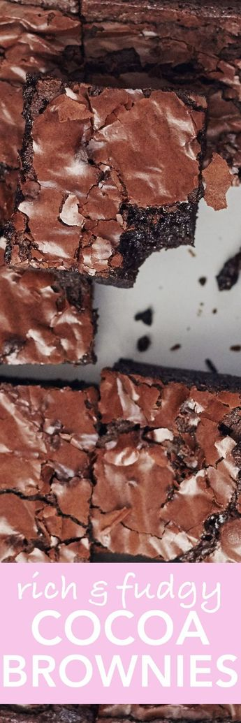 Pantry Cocoa Brownies