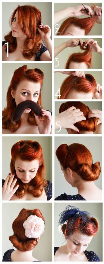 ▷ 1001 + idées pour réaliser une coiffure pin up chic et féminine