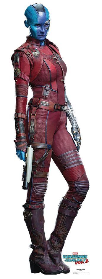 "NEBULA Cardboard Cutout Standup / Standee from ""Guardians of the Galaxy Vol 2 (2017)"" | Karen Gillan | 67"" H x 19"" W | FREE Shipping"