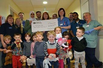 Kind Strathaven tots raise thousands for University Hospital Hairmyres emergency department