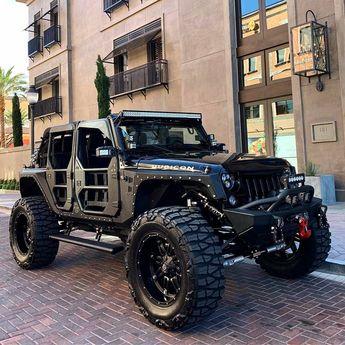 VIA @vegasjeep . . . . #jk #jeep #wrangler #offroad #red #theautofirm #luxury #custom #wheels #offroading #jeepster #jeepbeef…