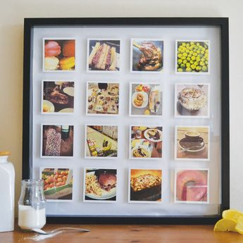 Large 3D Box Framed Print