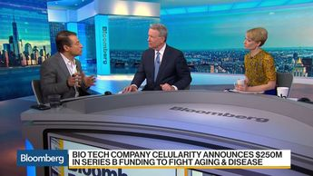 Betting on Placenta Stem Cells to Extend Life - Bloomberg Daybreak