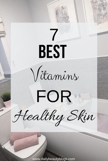 If you are someone who struggles with skin problems like acne prone skin, dry skin, dull skin, discoloration, or any other skin problems then vitamins are going to help rescue your skin. Click to learn the top 7 best vitamins for healthy skin so you can kick your problemed skin to the curb. #acneproneskin #dryskin #vitaminsforskinhealth #vitaminsskin #vitaminsforhealthyskin #SkincareRoutine20S
